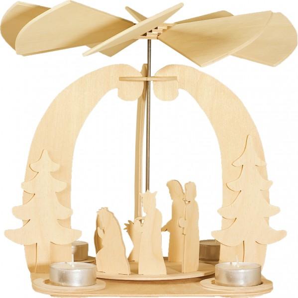 Holzbausatz Weihnachtskrippe/Pyramide