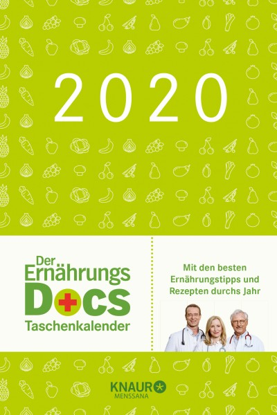 Ernährungs-Docs-Taschenkalender 2020