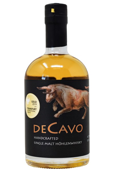 DeCavo Single Malt Höhlenwhisky