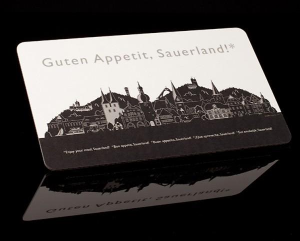 """Brettchen """"Guten Appetit Sauerland"""""""