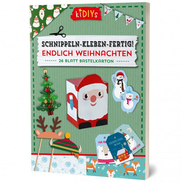Schnippeln - Kleben - Fertig - Endlich Weihnachten!