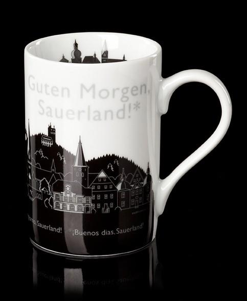 """Becher """"Guten Morgen Sauerland"""""""